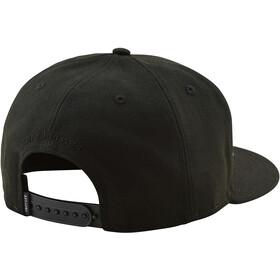 Troy Lee Designs Classic Signature Snapback Hat black/black